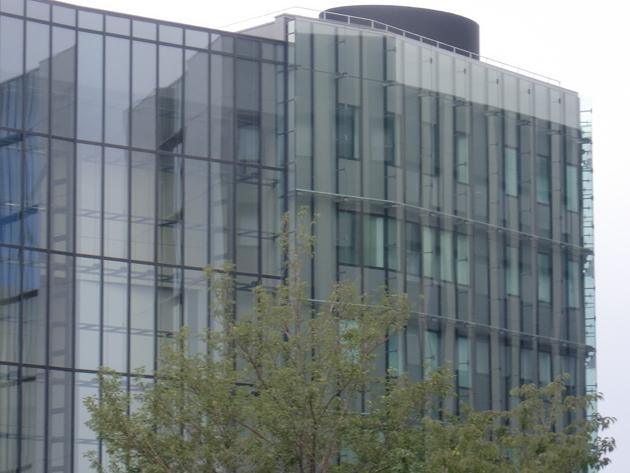 某研究施設 ハイドロテクト ガラスコーティング