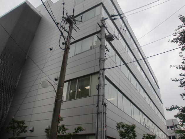 京都某企業自社ビル ハイドロテクト ガラスコーティング
