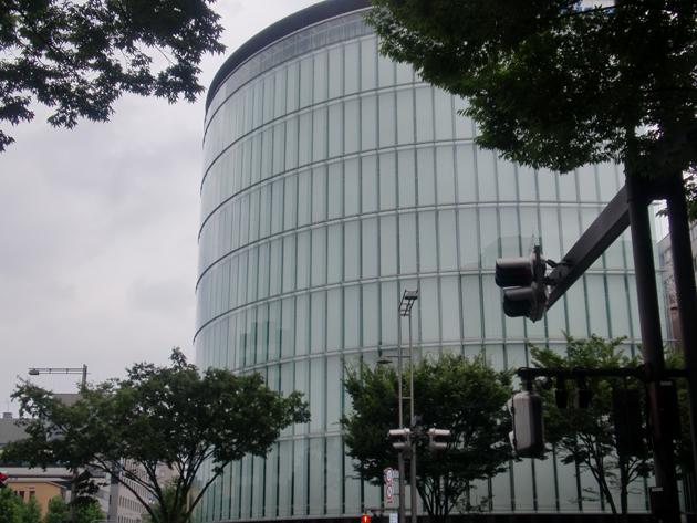 京都某企業自社ビル2 ハイドロテクト ガラスコーティング