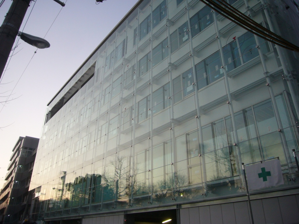 大阪市天王寺区某企業自社ビル ハイドロテクトガラスコーティング