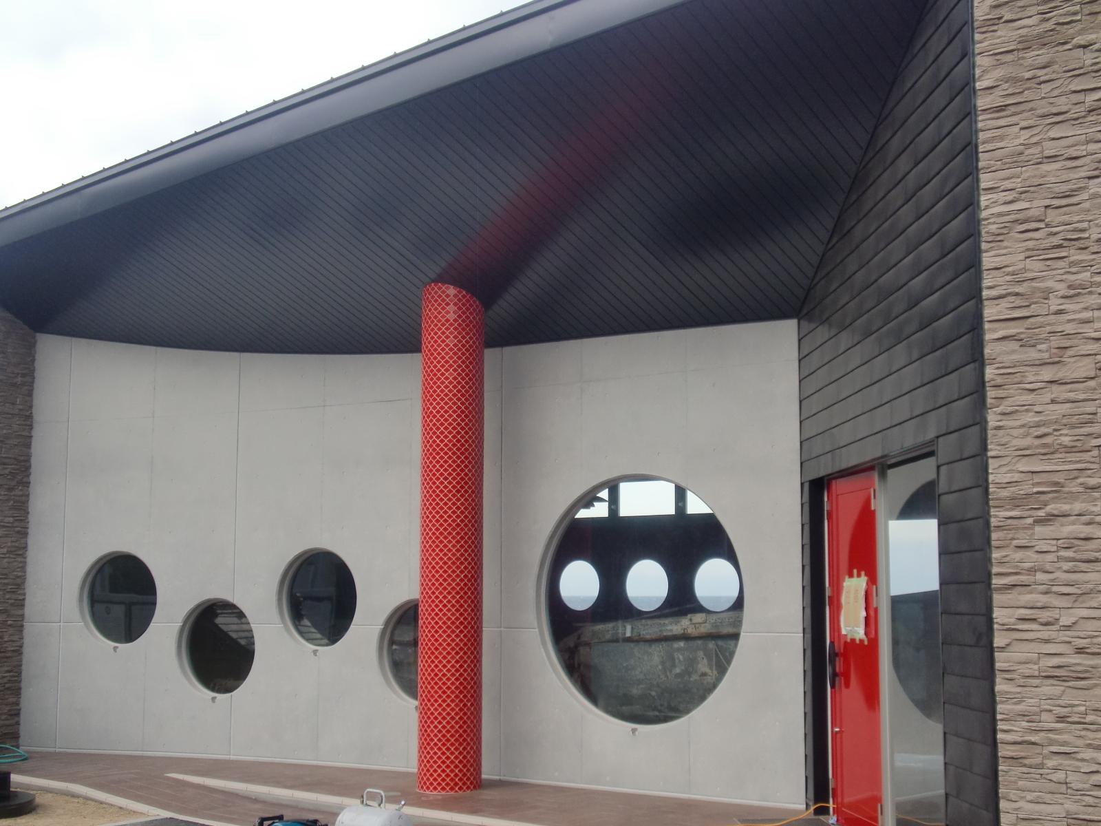 和歌山某記念館 ハイドロテクト ガラスコーティング