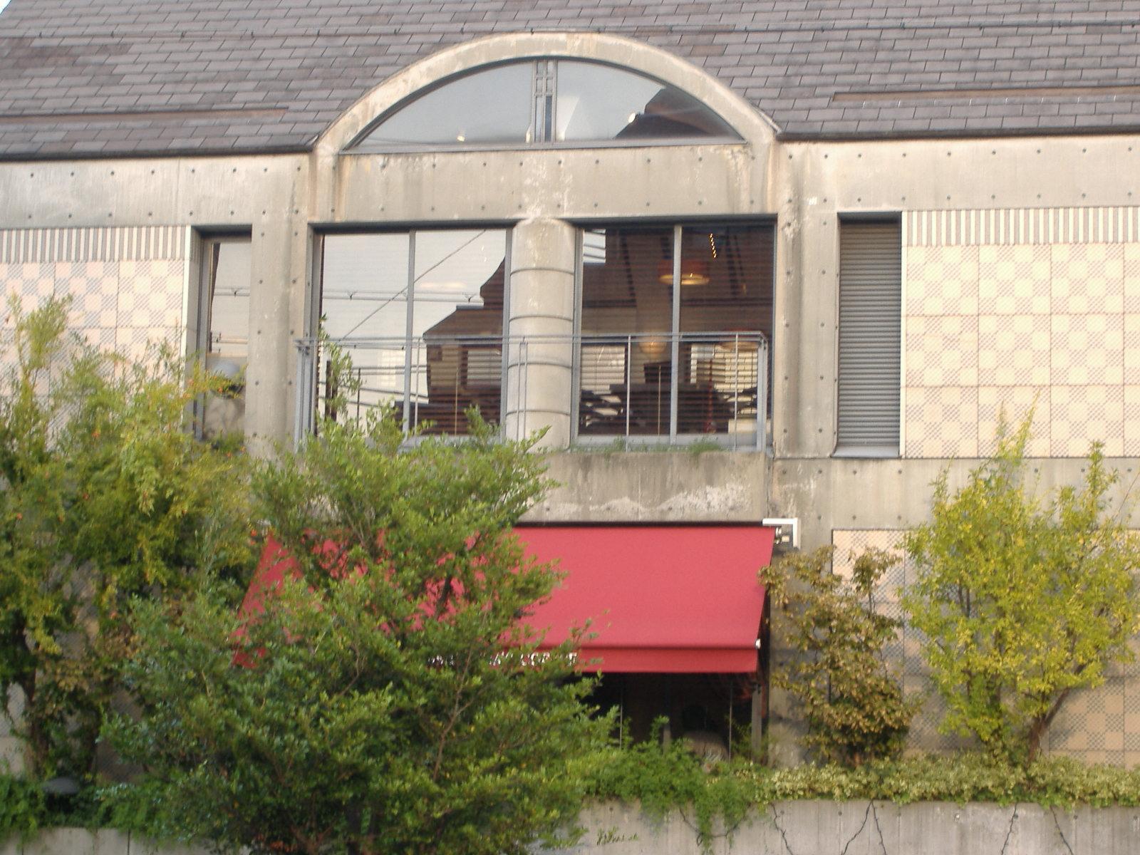 神戸市東灘区 某喫茶店 ハイドロテクトガラスコーティング
