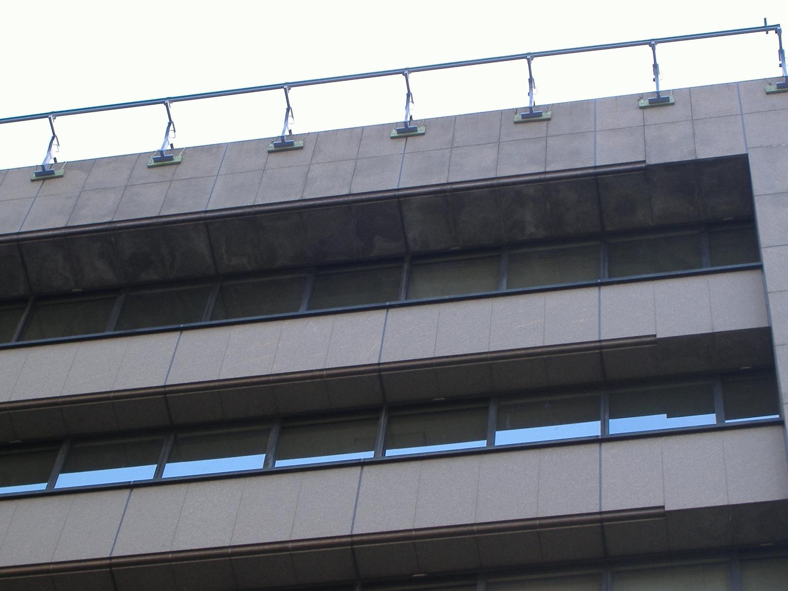 大阪市 某公共団体ビル 外壁クリーニング
